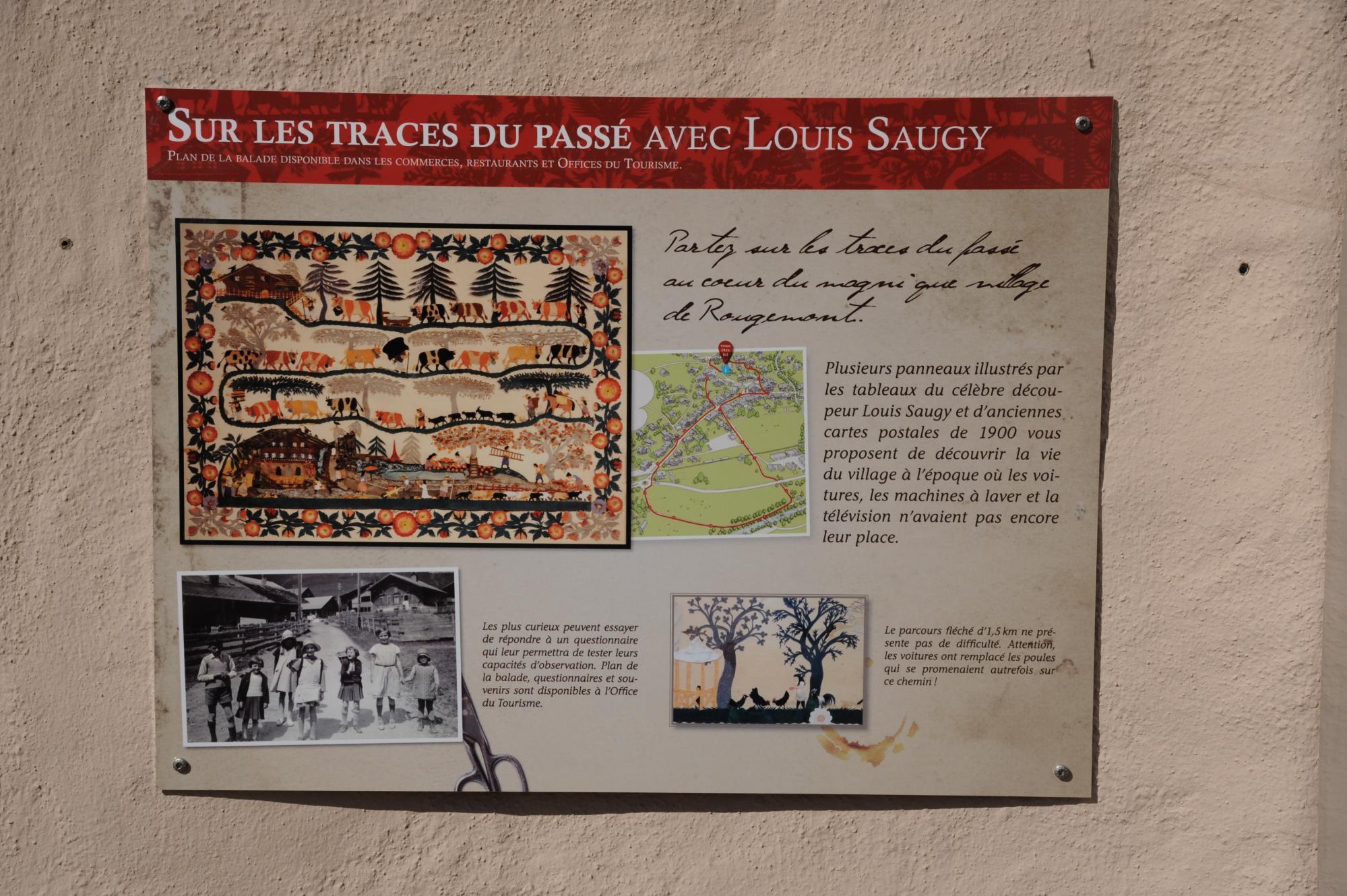 Parcours Louis Saugy2000